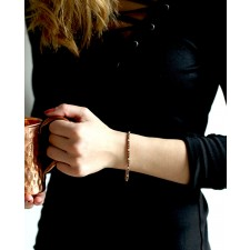 rose Armband schwarz Elisabeth