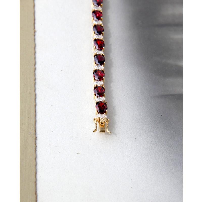 Armband Sissi gold rot